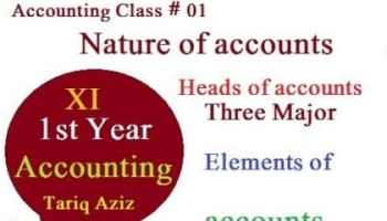 What are the three basic elements of accounting
