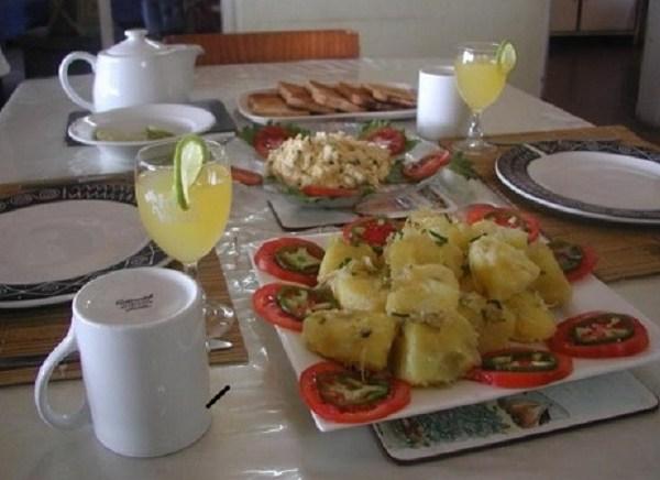 Free breakfast at Namiasi Lodge
