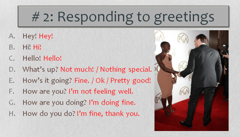 Greetings different ways of saying hello and goodbye learn english worksheets english worksheet greetings image from powerpoint learn english with africa m4hsunfo