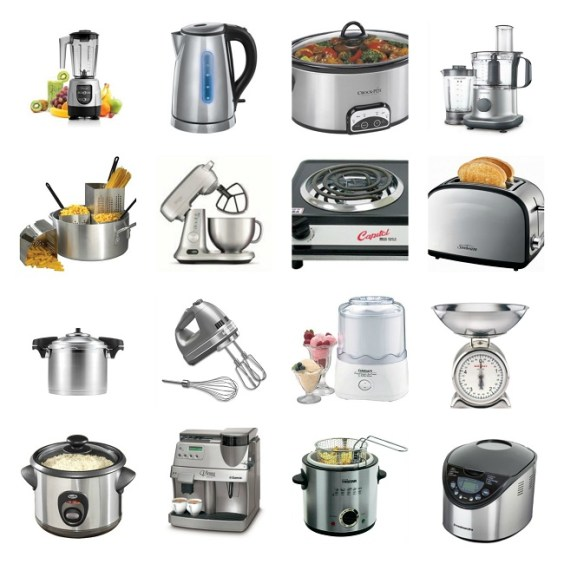 Vocabulary to describe small kitchen appliances and equipment - Learn  English With Africa