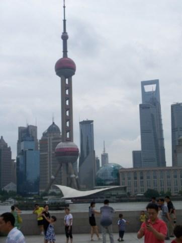 Shanghai's amazingly futuristic skyline