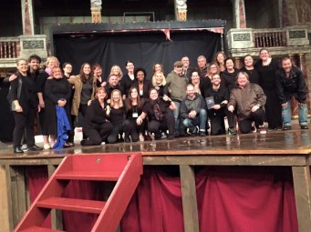 """The TSTP company, post-performance complete with """"grown ups."""""""