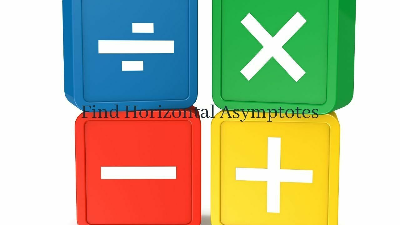 how to find horizontal asymptotes