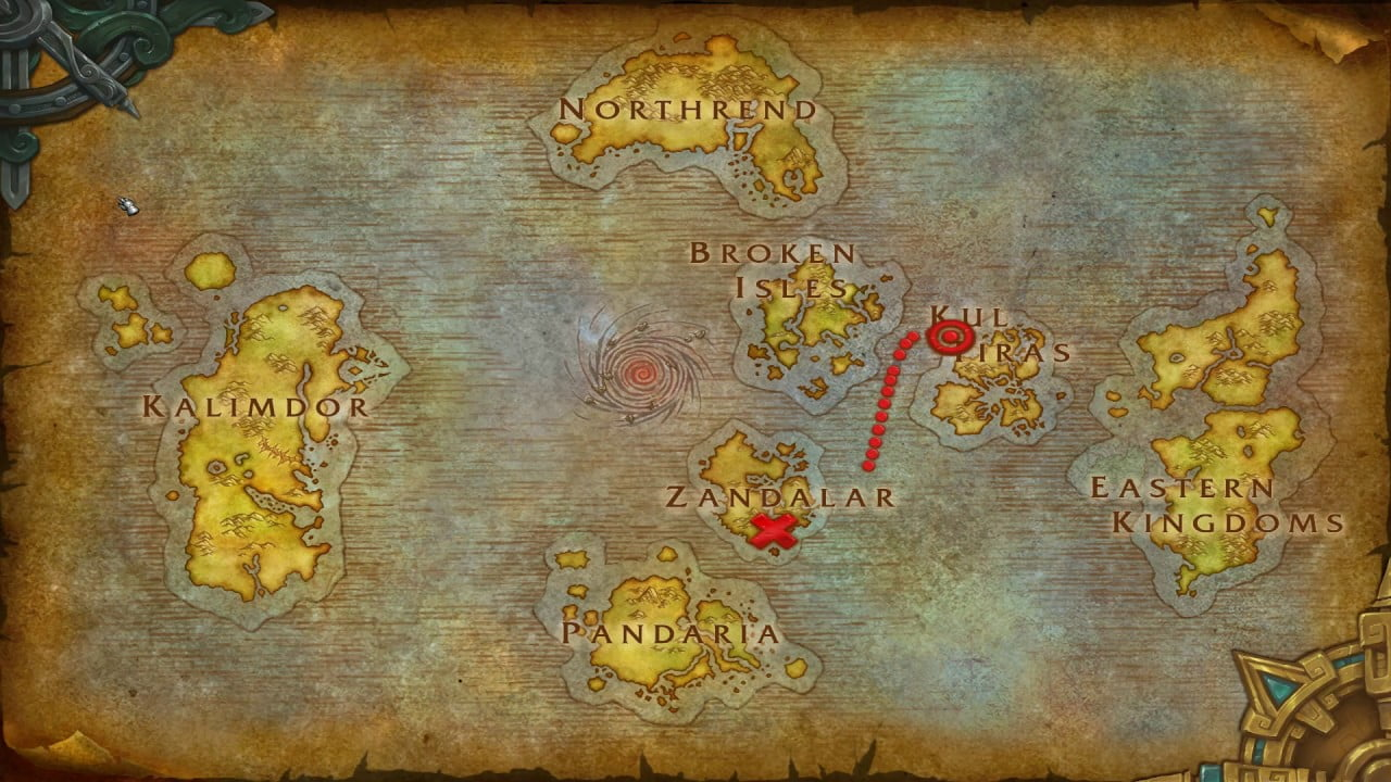 how to get to Nazjatar