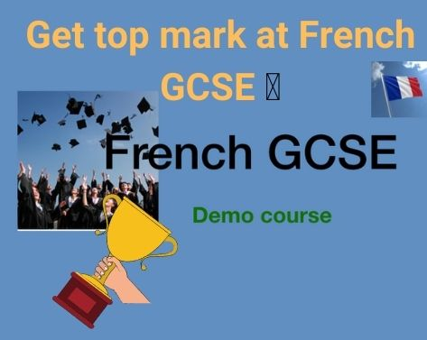 French GCSE course online
