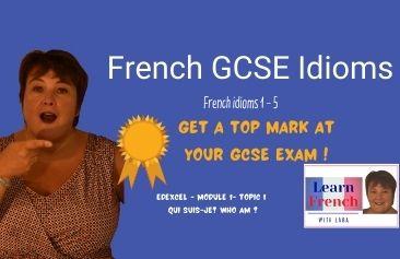French GCSE idioms