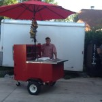 build a hot dog cart