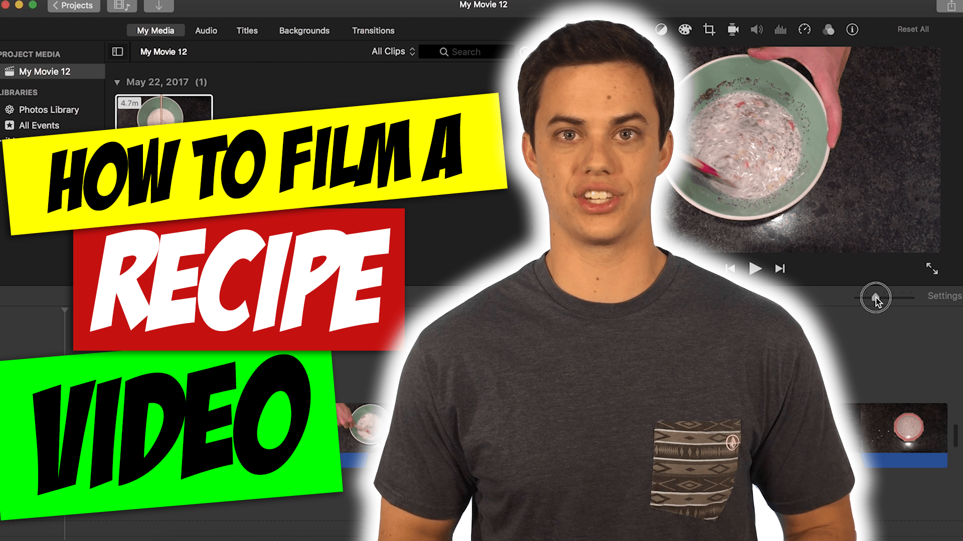 "How to Make a ""Tasty"" Recipe Video"
