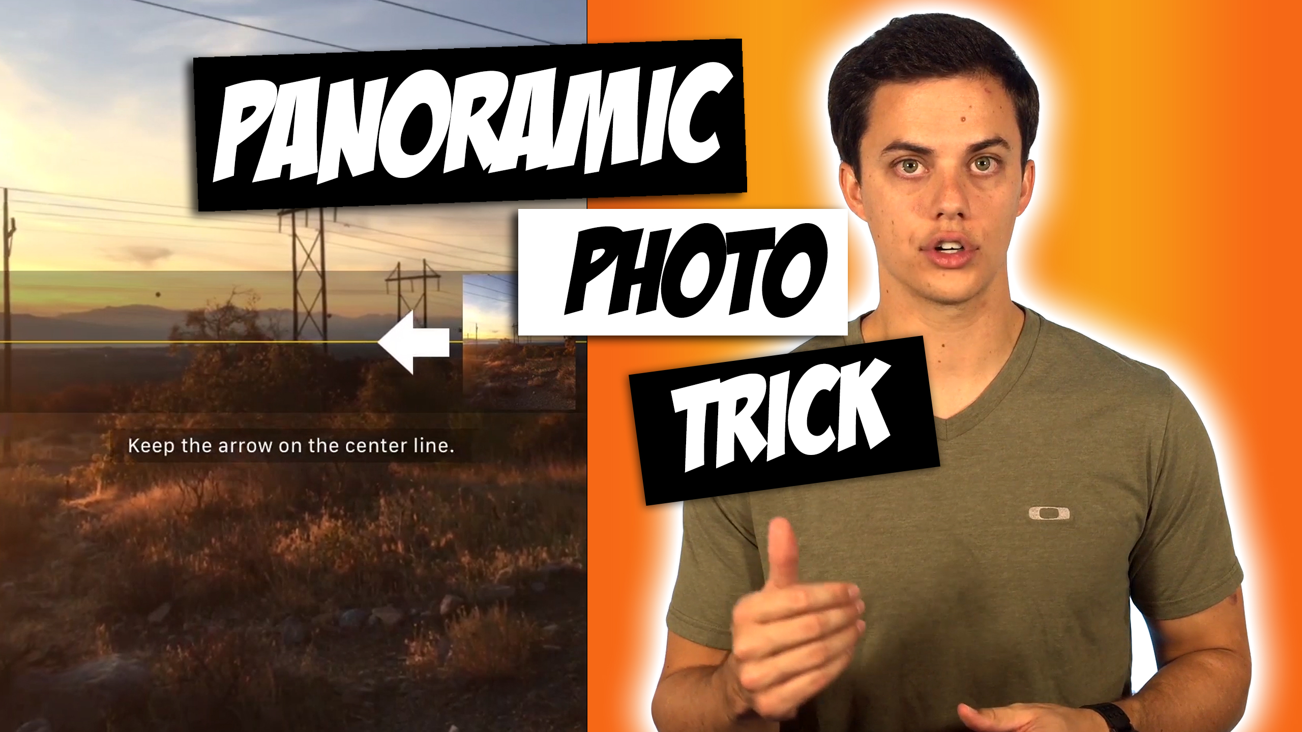 How to Change Panoramic Photo Direction