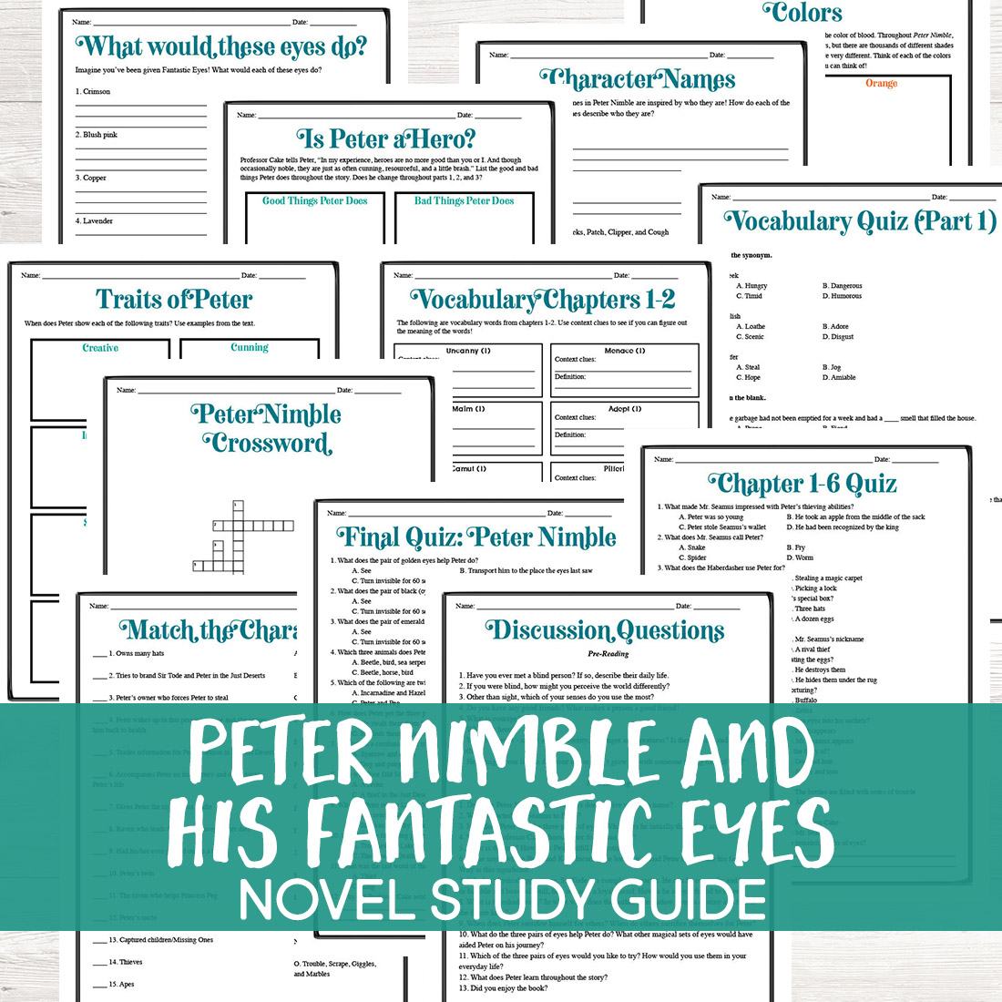 Peter Nimble And His Fantastic Eyes Review And Study