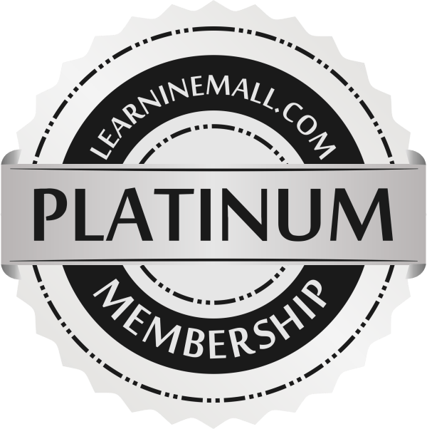 Learninemall Platinum Membership Badge