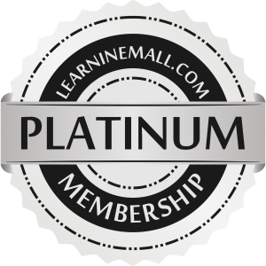 Learninemall Platinum Membership Badge