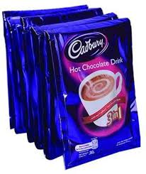 Cadbury hot chocolate drink 3in1 30g