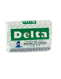 Delta Medicated & Antiseptic Soap 80g