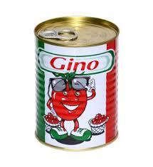 Gino tomatoe paste 400g