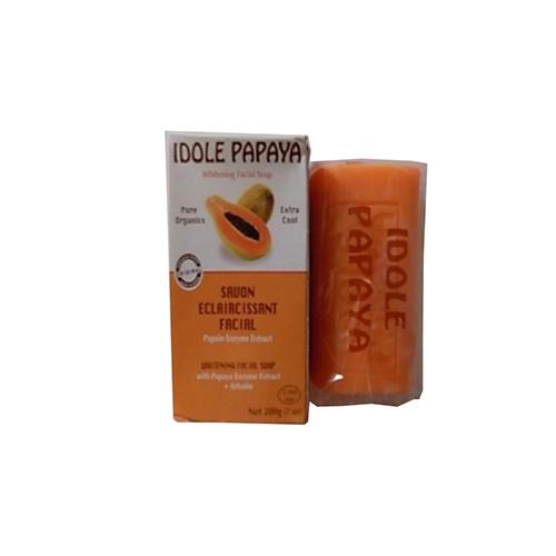 Idole papaya whitening soap 200g