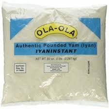 Ola Ola Pounded Yam 2.267kg