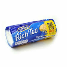 Rich tea biscuit