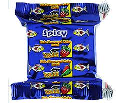 Spicy fish biscuit
