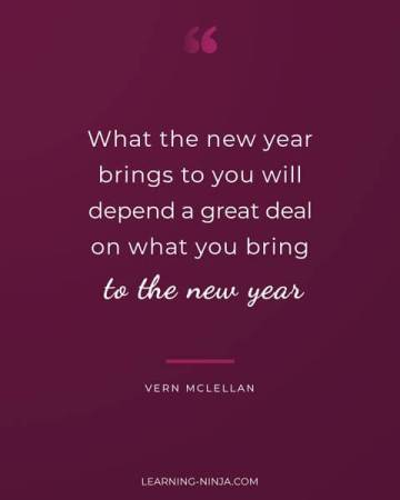 Motivational new year quotes