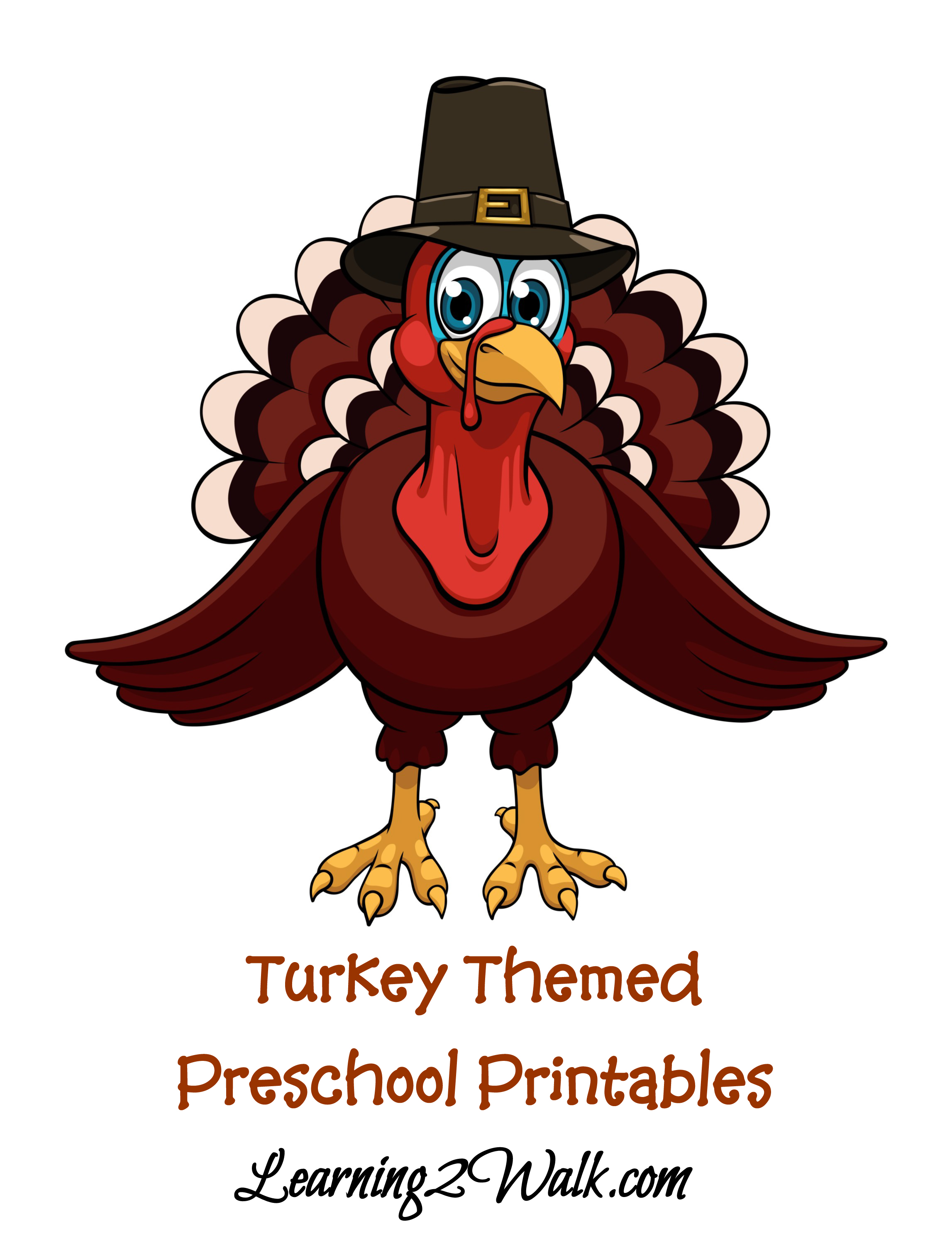 Free Turkey Printable Preschool Kit