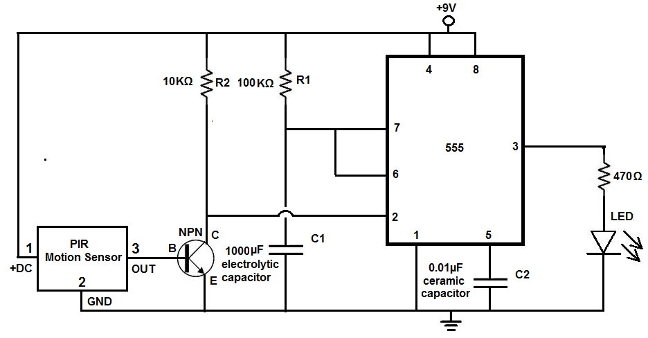 How To Connect A Transistor As A Switch In A Circuit