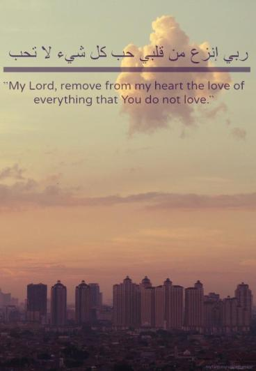 Duaa: Remove from my heart