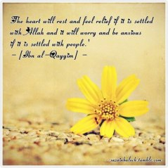 Wisdom: Ibn Al-Qayyim and the heart's rest