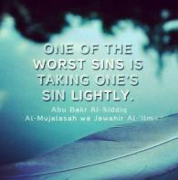 Wisdom: One of the worst sins