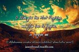 Duaa: You love to forgive