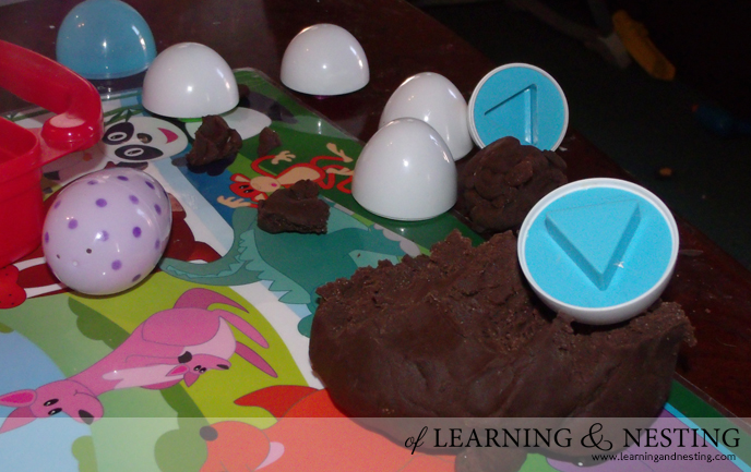 Chocolate Play Dough for Easter - of Learning and Nesting