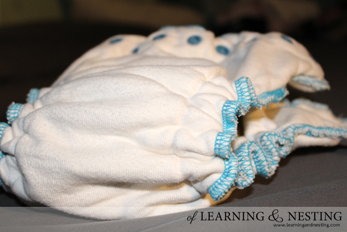 Cloth diapering overnight doesn't have to be scary. Here is how we use cloth overnight with no leaks or rashes!