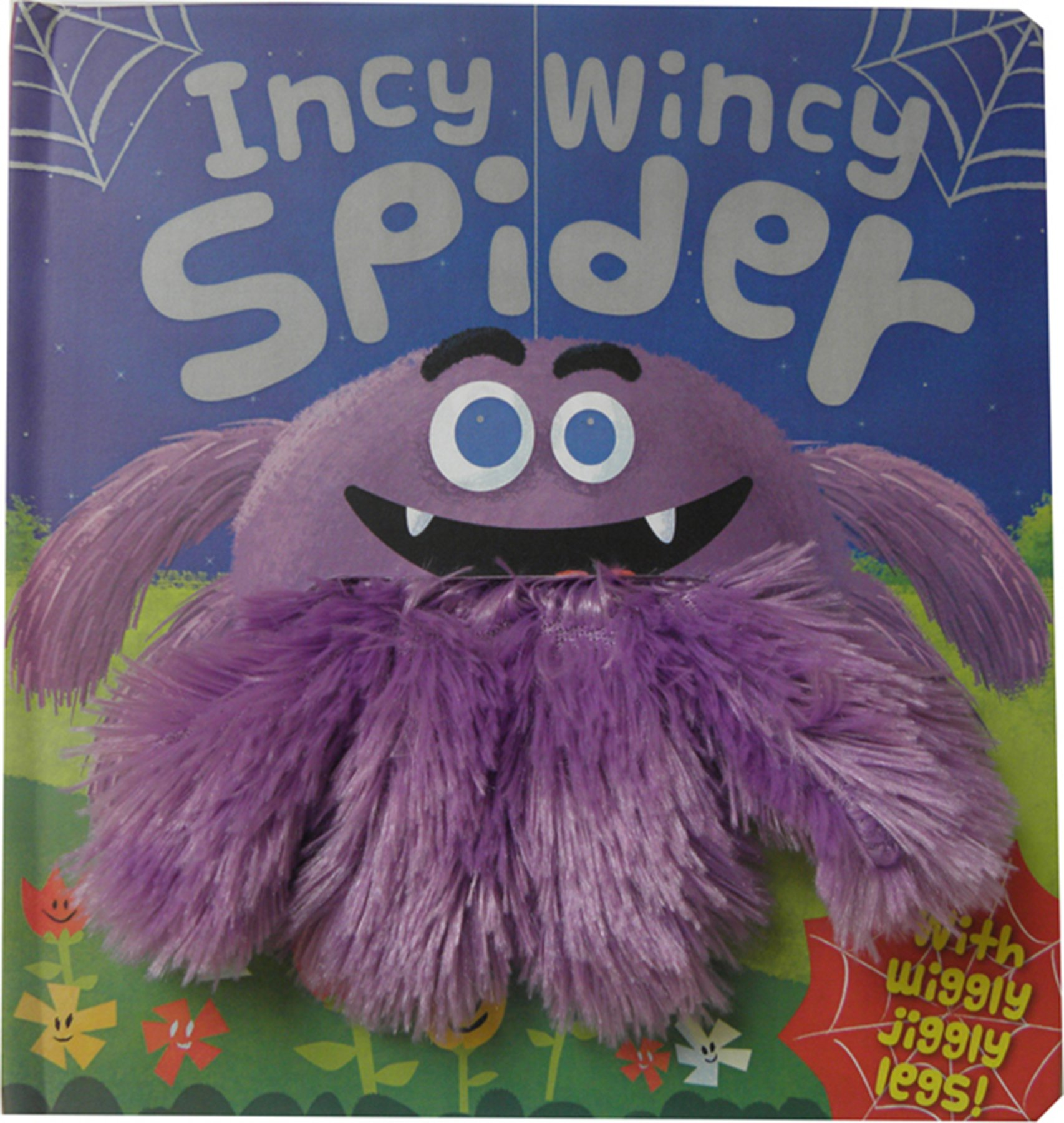 Wiggly Fingers Incy Wincy Spider Board Book