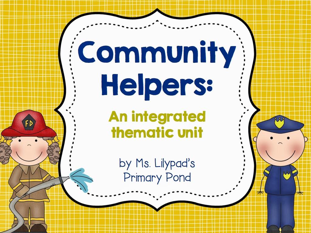 Community Helpers Unit Amp A Funny