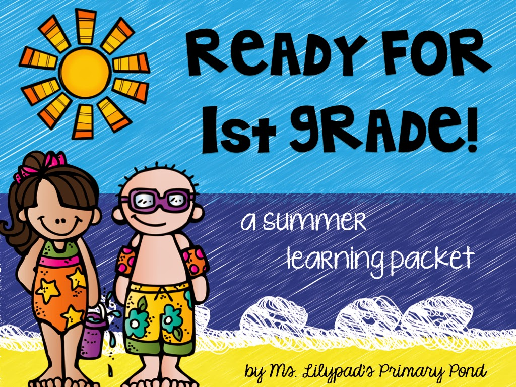 Part One Summer Learning Activities For Rising First Graders And Summer Homework For