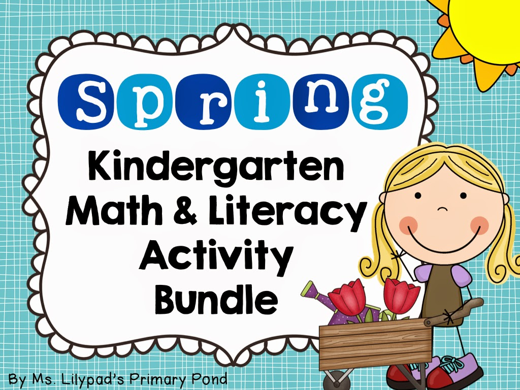 Spring Centers For Kindergarten And First Grade And A Free Spring Math Activity