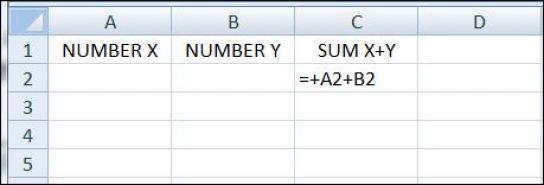 EXCEL2 spreadsheet