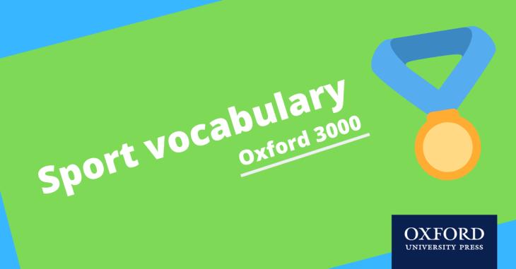 sport vocabulary