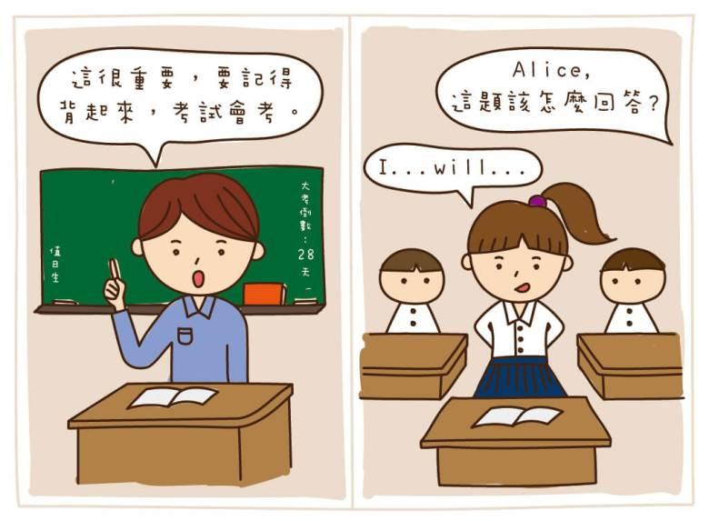 傳統填鴨式教育