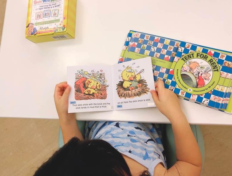 3歲英語閱讀啟蒙