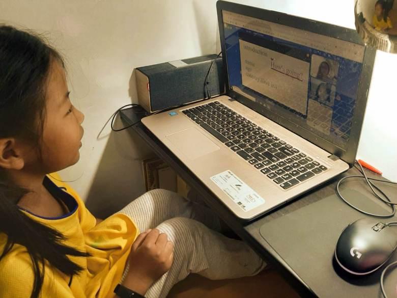 線上學習讓我更認識自己的孩子