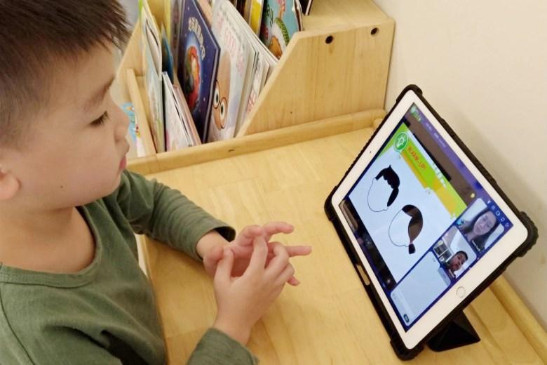 第一次的線上學習體驗,阿萌比想像中的還要進入狀況。