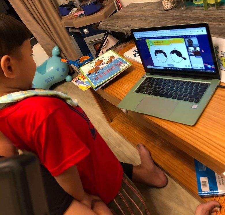 OiKID 兒童英文,學習臉部英文。