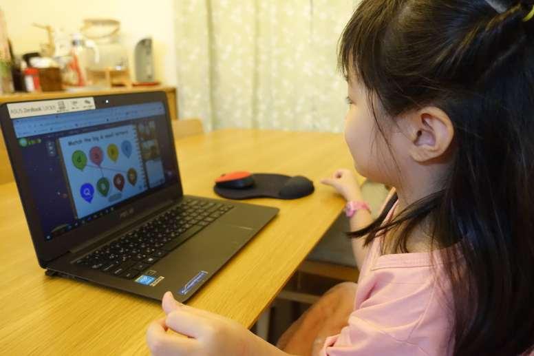 梨梨 體驗 OiKID 兒童英文線上課程