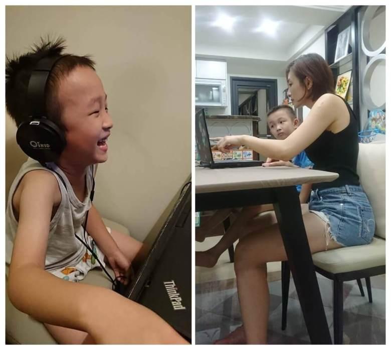 孩子跟媽媽都開心的使用線上學習