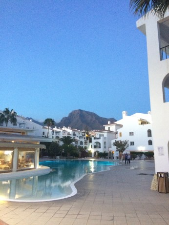 Our resort with a view of Mount Teide