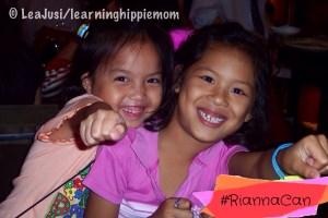 Kylie and Rianna