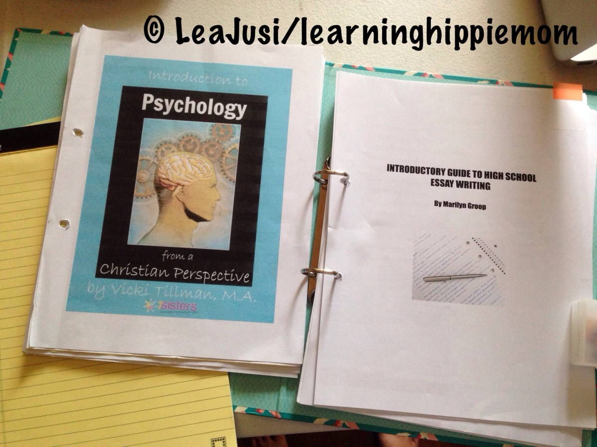 High School Writing and Psychology with 7 Sisters Homeschool