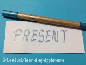 One Word: Present