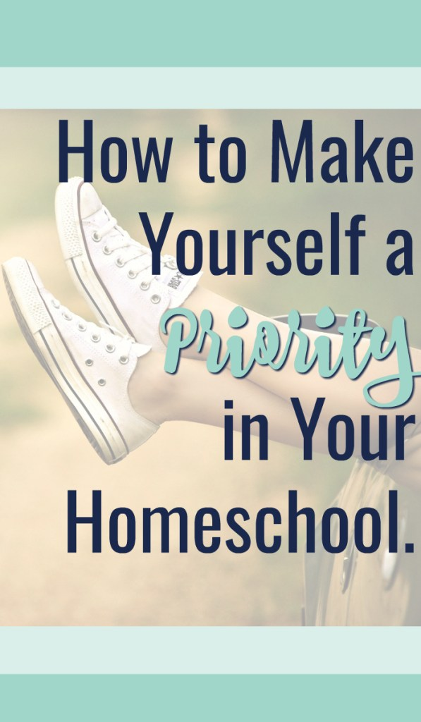 homeschool self-care
